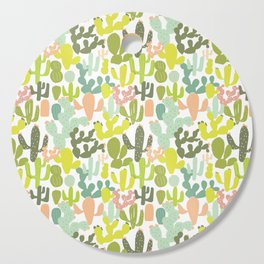 Cactus Garden Cutting Board