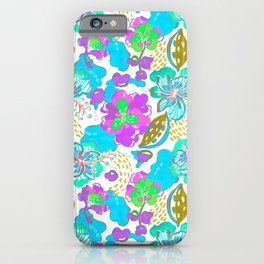 Hand Drawn Floral 0017 iPhone Case