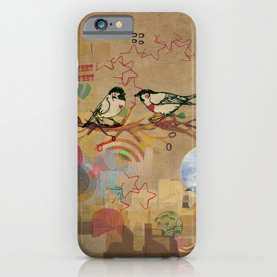 Two Little Birds iPhone & iPod Case