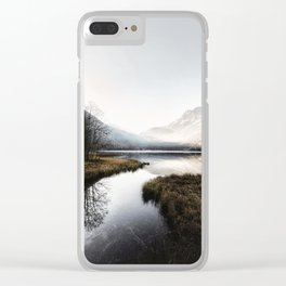 Mountain river 2 Clear iPhone Case