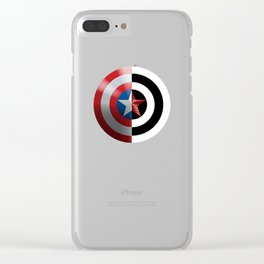 captain - Bucky Winter Soldier Clear iPhone Case