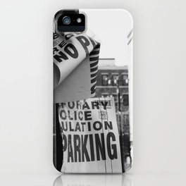 Parking on Parking iPhone Case