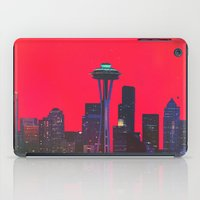 seattle iPad Cases featuring Seattle. by Daniel Montero