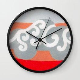 Riding like the King Wall Clock