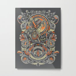 Mysctical Interlude Metal Print