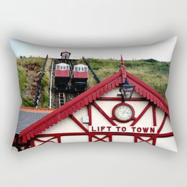Saltburn Lift To Town Rectangular Pillow