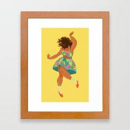 Spring Dance Framed Art Print