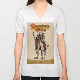 Transylvania Vintage Unisex V-Neck
