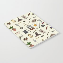 Harry Pattern Notebook