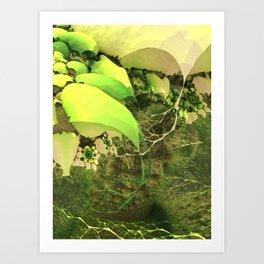 Tangleroot Art Print