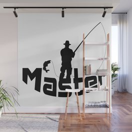 Fly fishing Wall Mural