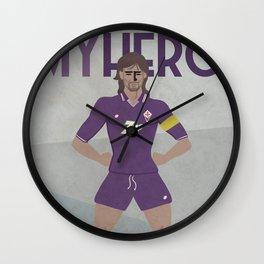 MY HERO - 9 - BATISTUTA - ZEROSTILE FACTORY Wall Clock
