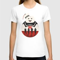 ghostbusters T-shirts featuring Ghostbusters by Bill Pyle