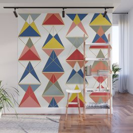 Triangular Affair II Wall Mural