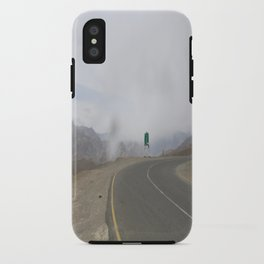 lonely roads.. iPhone Case