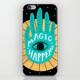 Magic happens iPhone Skin
