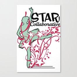 Ballet Collaborative Canvas Print