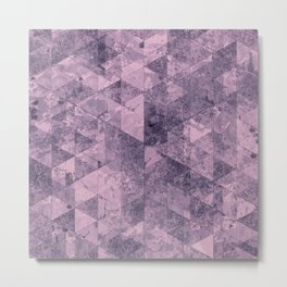 Abstract Geometric Background #28 Metal Print