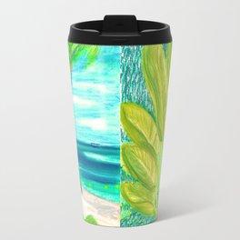 caribe beach and garden Travel Mug