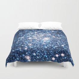 Galaxy Stars: Riverside Blue Duvet Cover