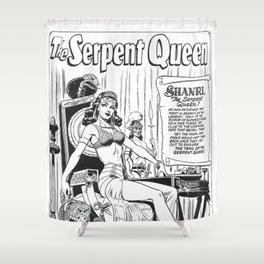 Shanri The Serpent Queen Shower Curtain