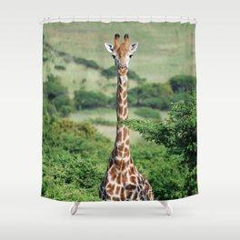 Giraffe Standing tall Shower Curtain