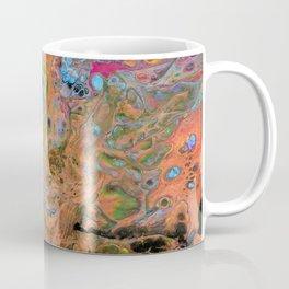 Fluid Copper - Abstract, original, fluid, acrylic painting Coffee Mug