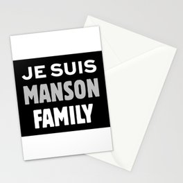 Je Suis - Manson Family Stationery Cards