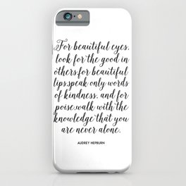 inspirational art,Girls Room Decor,Gift For Her,Quote Prints,Wall Art,Typography Print,Nursery Girls iPhone Case