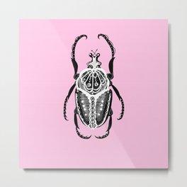 Amiga Fiesta Beetle - Paloma Metal Print
