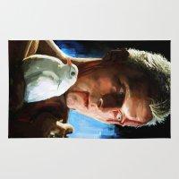 blade runner Area & Throw Rugs featuring Roy  (Blade Runner) by  JESUS TORRADO TORO (jarttoro)