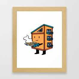 Home Body: Chip Framed Art Print