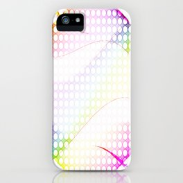 abstract colorful tamplate iPhone Case