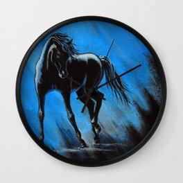 Midnight Blue Wall Clock