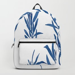Eucalyptus Branches Blue Backpack