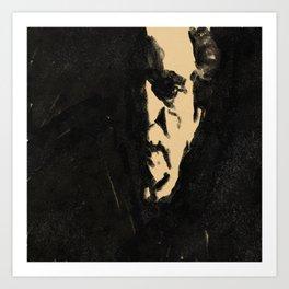 Harry Dean Stanton Art Print