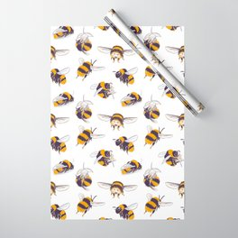 Bumble Bees Wrapping Paper