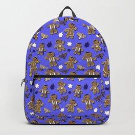 Hanukkah Gingerbread Backpack