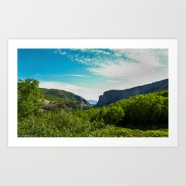 Provo Canyon Art Print
