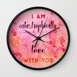 In love with you Wall Clock