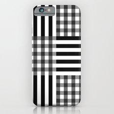monochrome pattern  Slim Case iPhone 6s