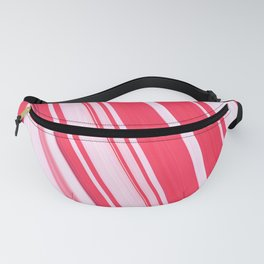 Peppermint Stick Fanny Pack