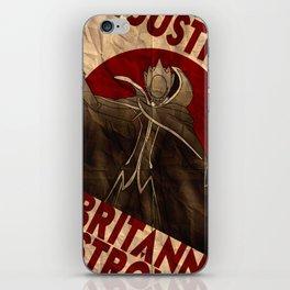 Code Geass | Zero | Justice will prevail iPhone Skin