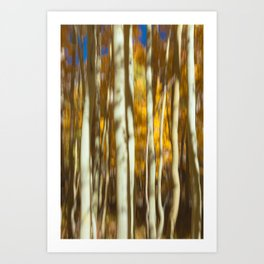 Impression of Autumn II Art Print