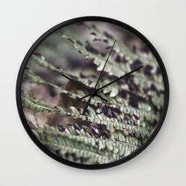 Fern 18 Wall Clock