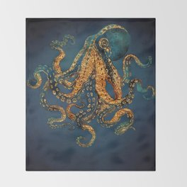Underwater Dream IV Throw Blanket