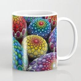 Jewel Drop Mandala Stone Collection #1 Coffee Mug