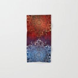 Mandala - Fire & Ice Hand & Bath Towel