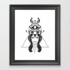 deusa Framed Art Print