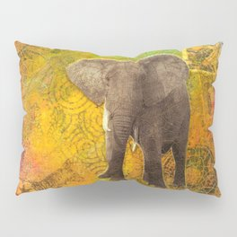 The Elephant in my Dream Pillow Sham